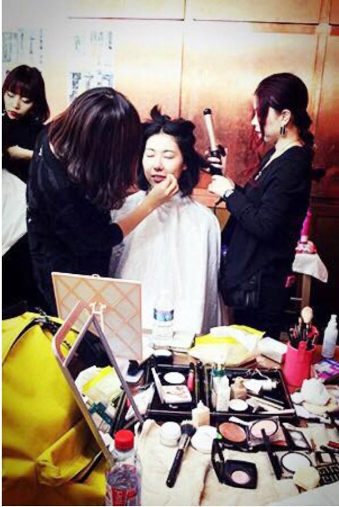 Chie hagihara hairmake team